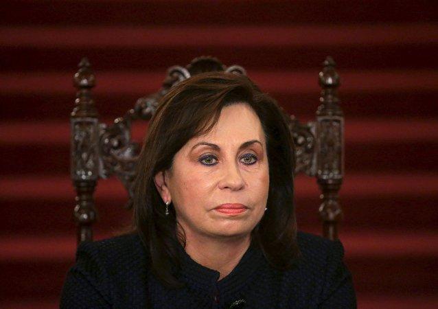 Sandra Torres,  excandidata presidencial de Guatemala