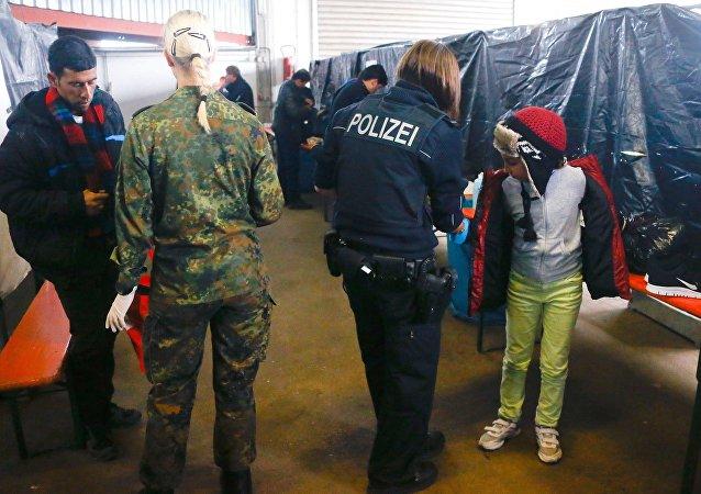 Migrantes en Alemania (archivo)