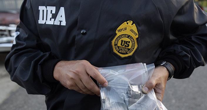 Agente de policía de la DEA