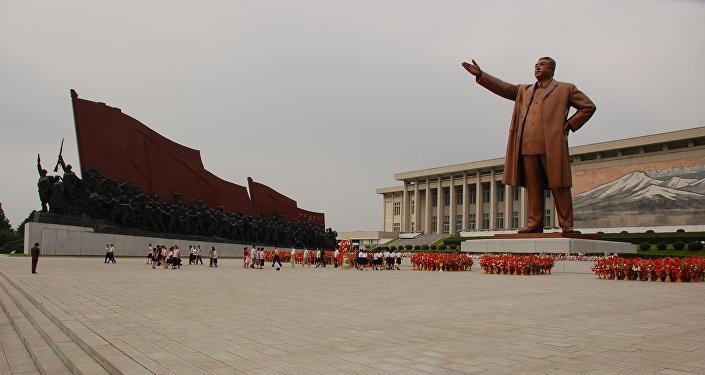 Pyongyang, capital de Corea del Norte