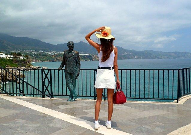 Turista en España (imagen referencial)