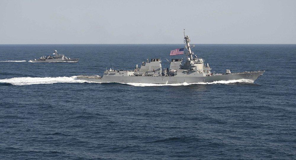 Destructor USS Lassen estadounidense