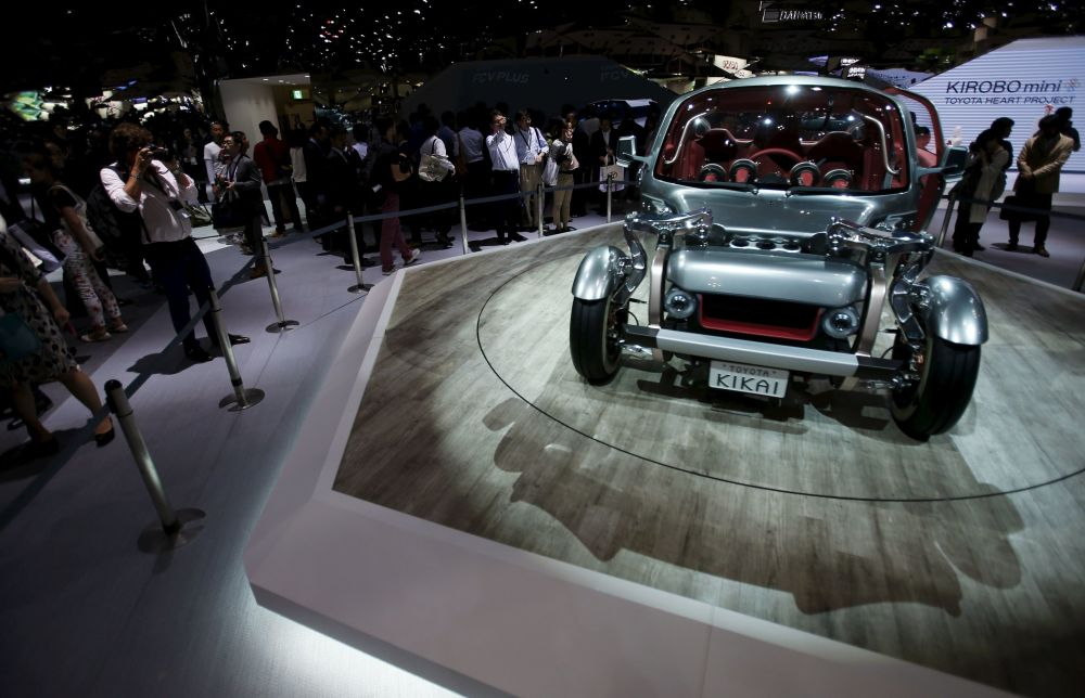 Coches futuristas en el Tokyo Motor Show 2015