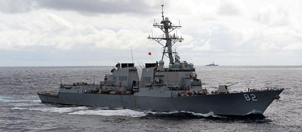 Un destructor estadounidense clase Arleigh Burke, el tipo de los buques que suelen chocarse con los navíos civiles en diferentes partes del mundo (imagen referencial)