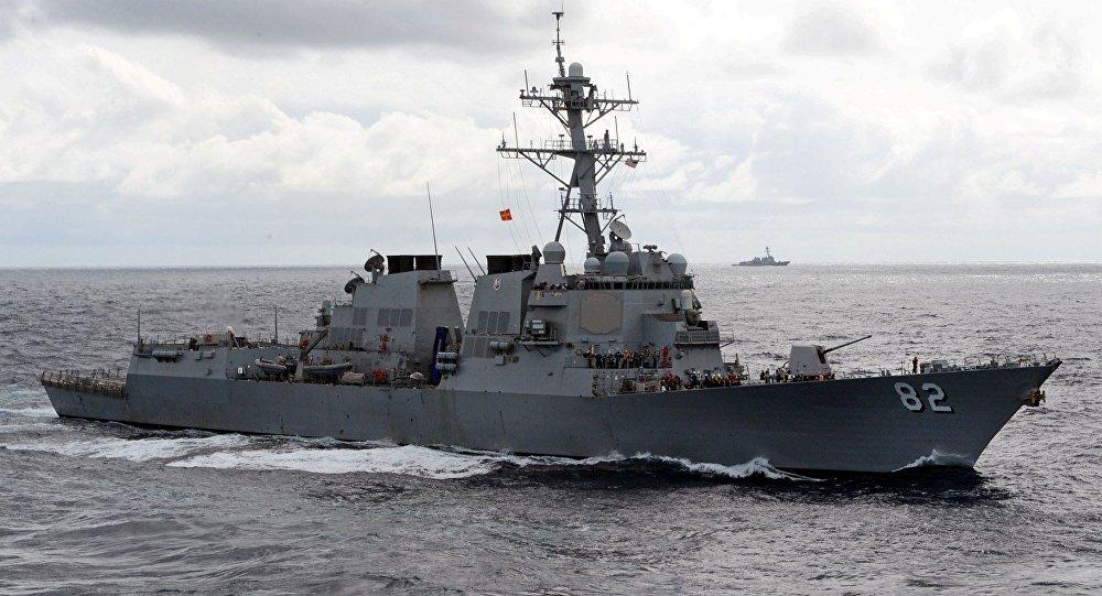 Destructor estadounidense USS Lassen de clase Arleigh Burke, la misma clase que el USS Fitzgerald (imagen referencial)