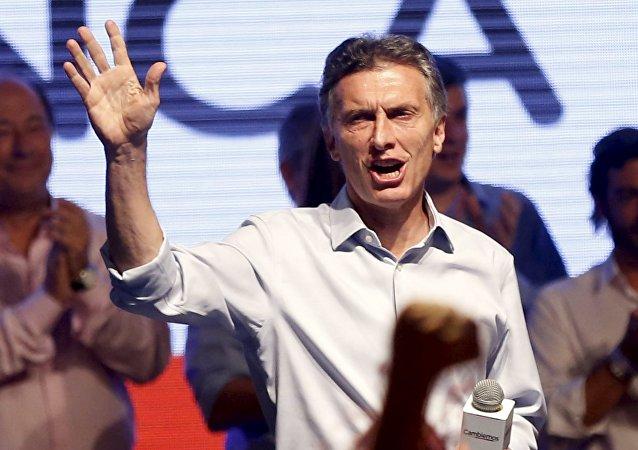 Mauricio Macri, candidato presidencial argentino