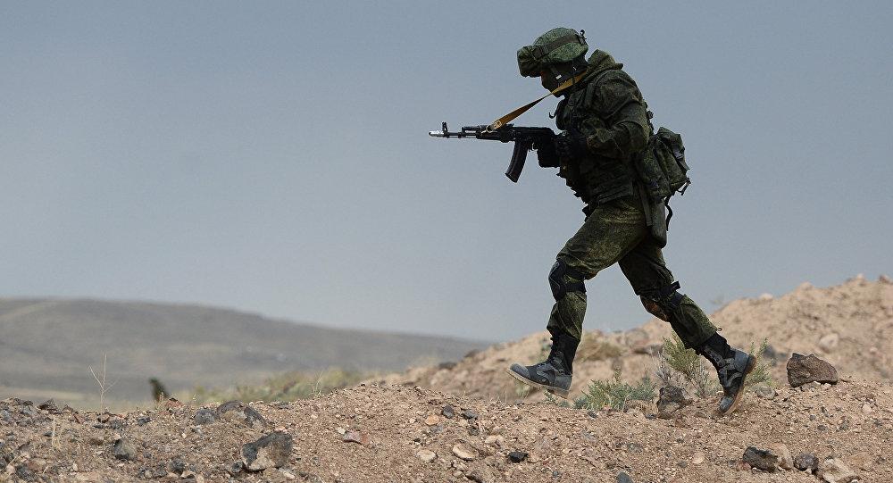 Uniformado ruso (imagen referencial)