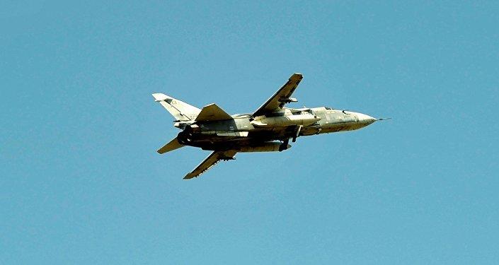Un caza Su-24