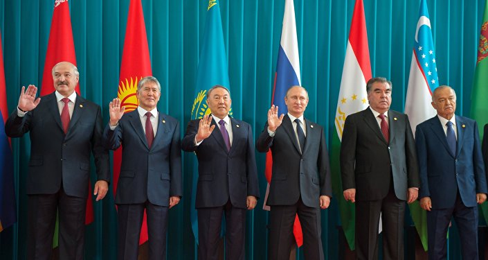 Líderes de los estados miembros de la CEI