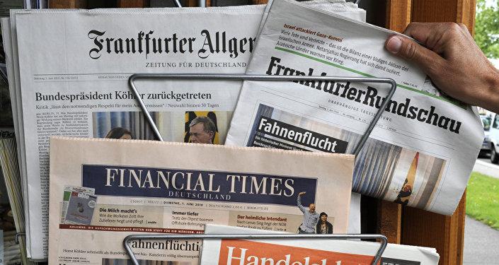 Periódicos alemanes