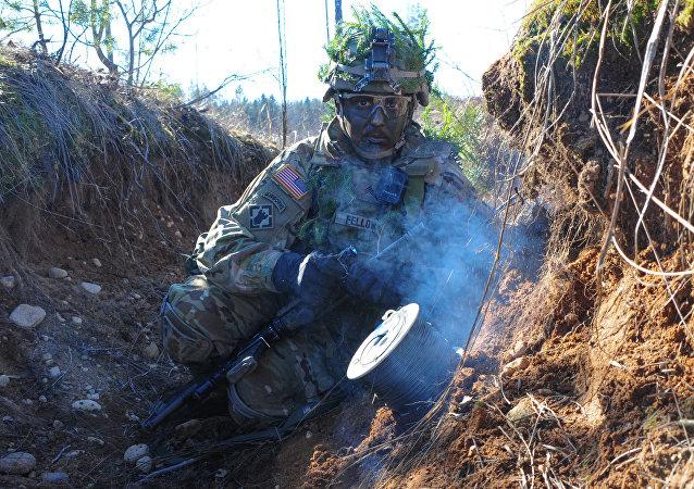 Militar de la OTAN en Estonia
