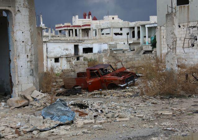 Situación en Hama (archivo)
