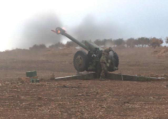 Combates cerca la localidad siria de Morek