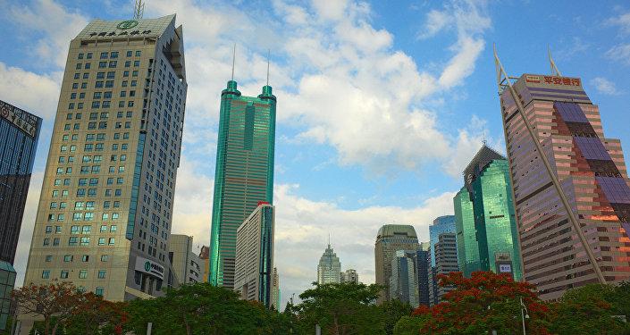 Shenzhen, uno de los centros industriales de China (archivo)