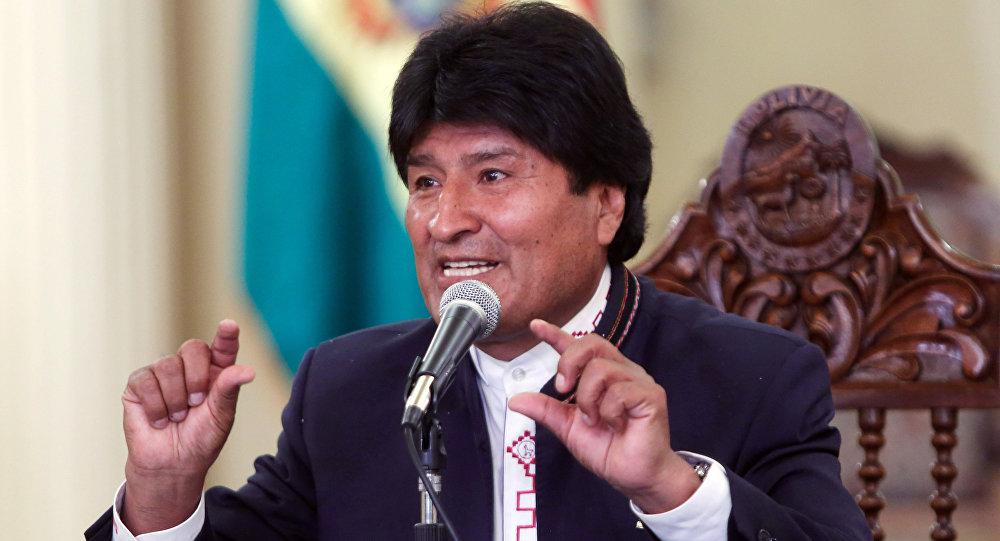 Evo Morales, presidente de Bolivia