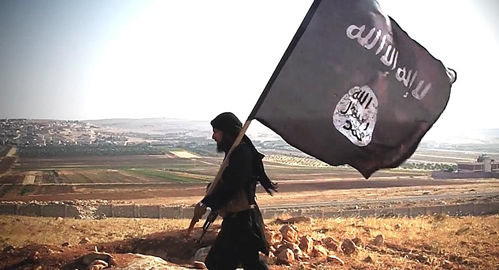 Militante del grupo terrorista Daesh
