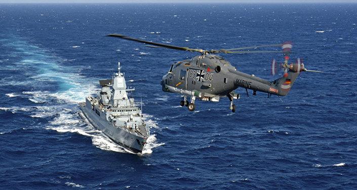 Las Fuerzas de la OTAN en el mar Mediterráneo