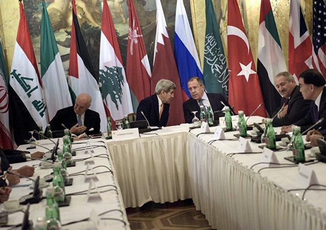 Negociaciones sobre Siria en Viena