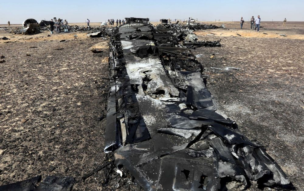 Accidente del avión ruso en Egipto