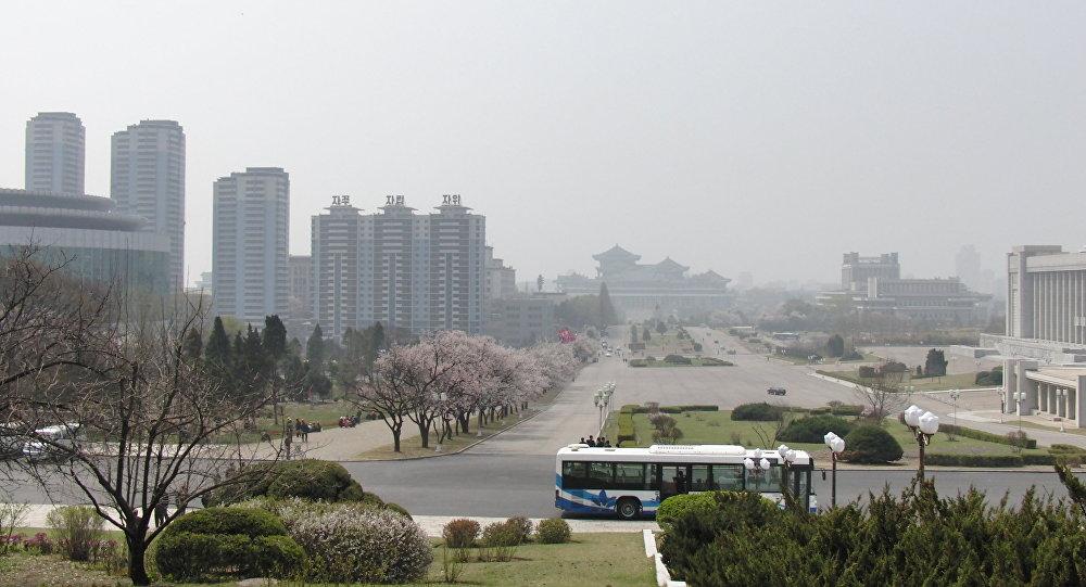 Pyonyang, capital de Corea del Norte