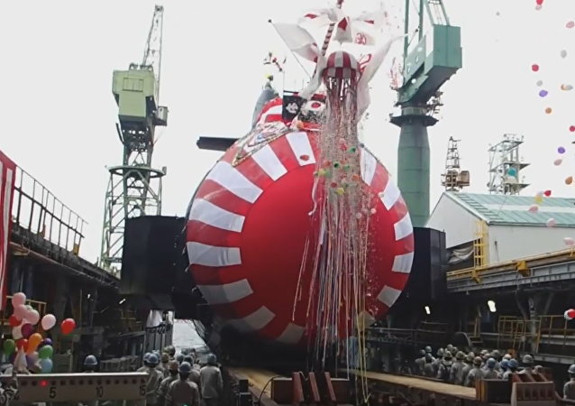 Japón bota el moderno submarino Sekiryu