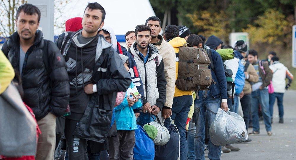 Los refugiados en Alemania (archivo)