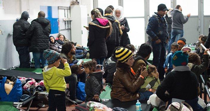 Refugiados en un asilo en Passau, Alemania (Archivo)