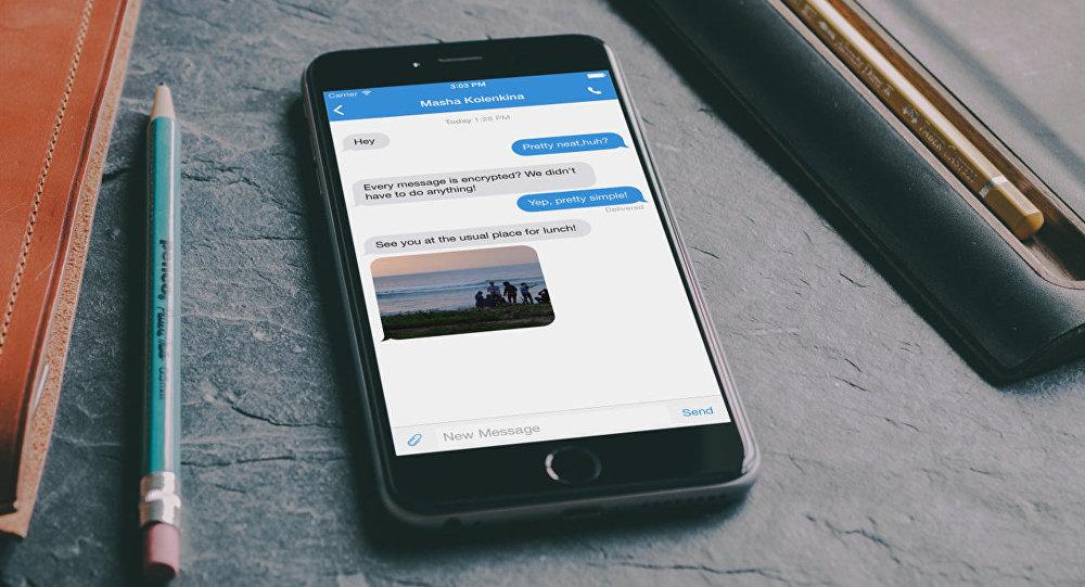 Aplicación de mensajería Signal
