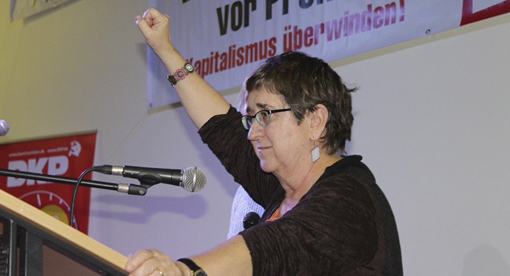 Maite Mola, la vicepresidenta del Partido de la Izquierda Europea