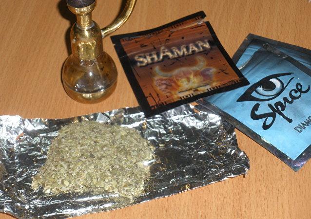 Marihuana sintética, conocida como spice