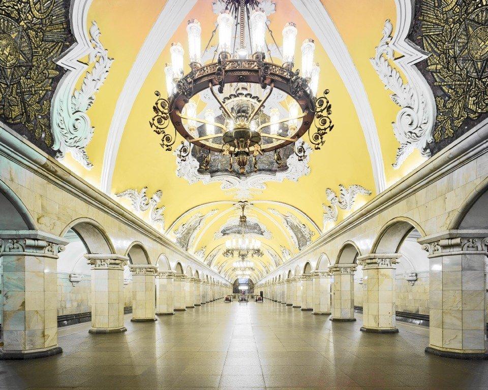 La estación Komsomólskaya
