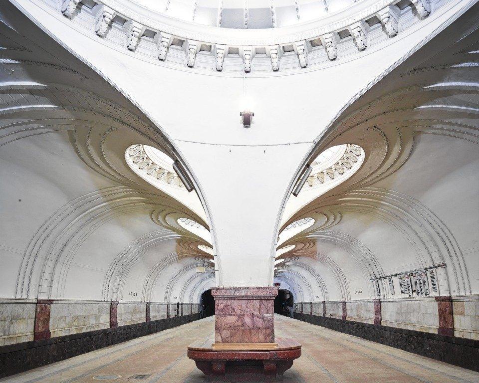 La estación Sókol