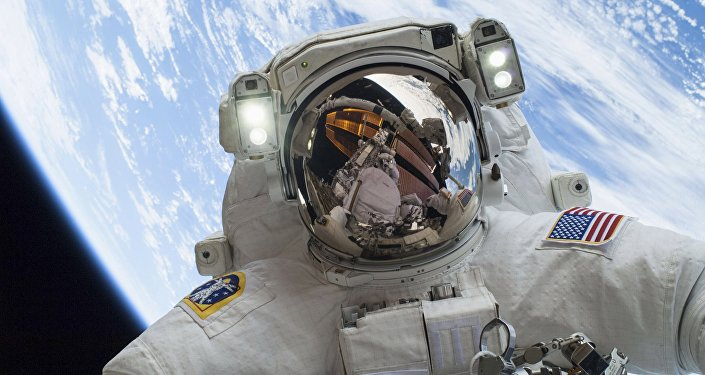 Astronauta Mike Hopkins (archivo)