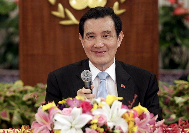 Ma Ying-jeou, presidente de Taiwán