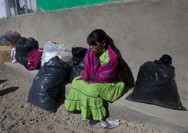 Una mujer indígena en México (archivo)