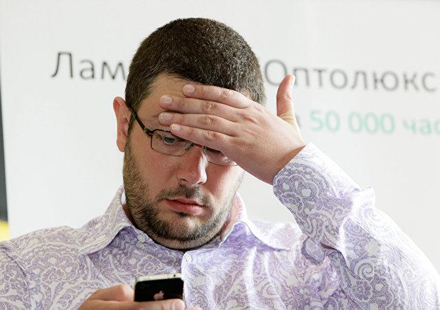 Artemi Lébedev, diseñador ruso