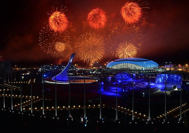 Ceremonia de clausura de los JJOO de 2014 en Sochi