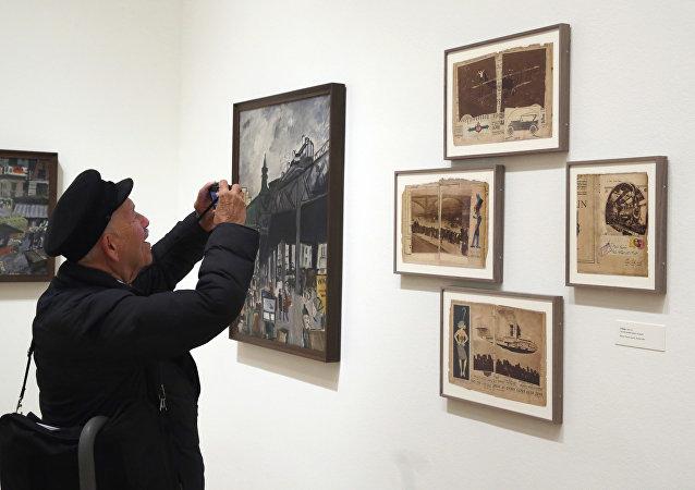 En el nuseo del Arte Contemporaneo (archivo)