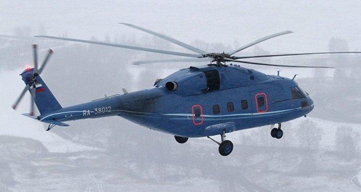 Helicóptero Mi-38 (archivo)