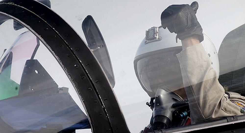 Un piloto ruso (imagen referencial)
