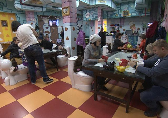 Triunfa en Moscú el restaurante inspirado en las heces