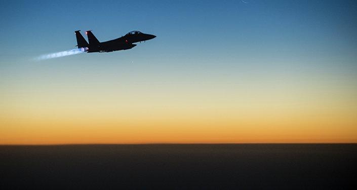 Caza F-15 estadounidense