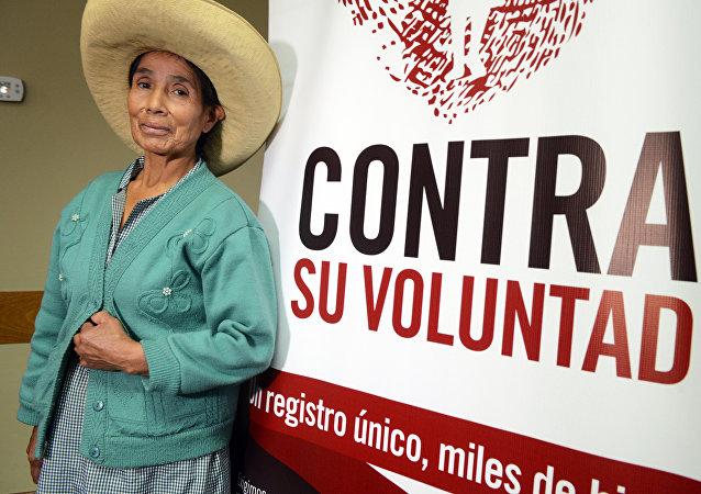 Campaña en apoyo a la creación del registro de víctimas de esterilizaciones forzadas en Perú