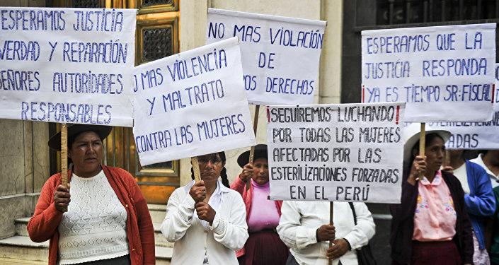 Las víctimas de la esterilización forzada en Perú