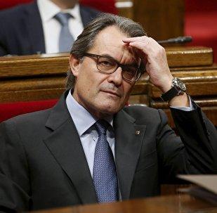 Artur Mas, el exresidente de Cataluña