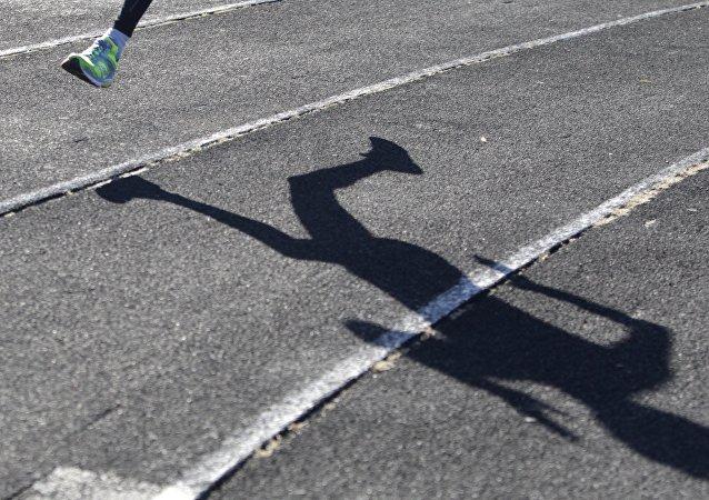 Un atleta