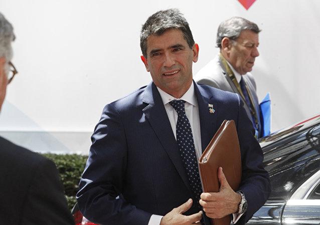 Raúl Sendic, vicepresidente de Uruguay (archivo)