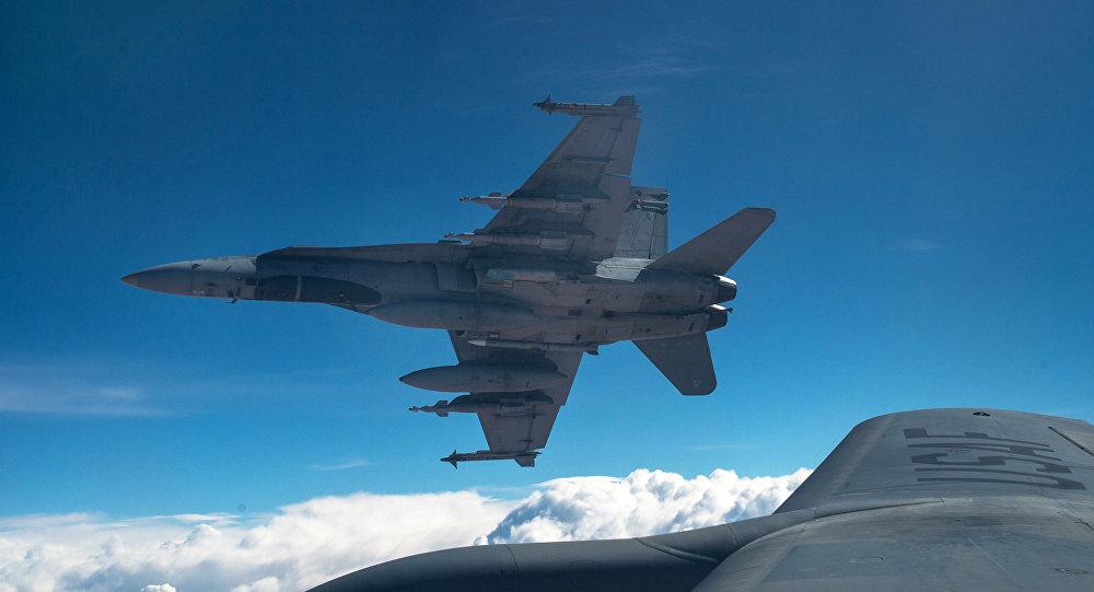Fuerzas aéreas canadienses y estadounidenses en la operación contra el EI en Irak