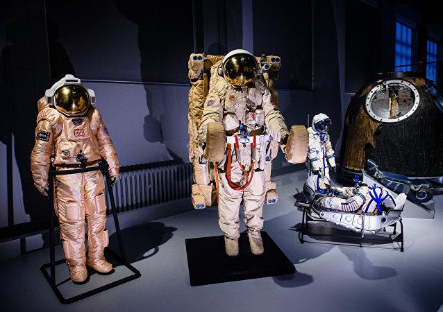 La exposición ´Cosmonautas´ del Museo de la Ciencia en Londres, Reino Unido