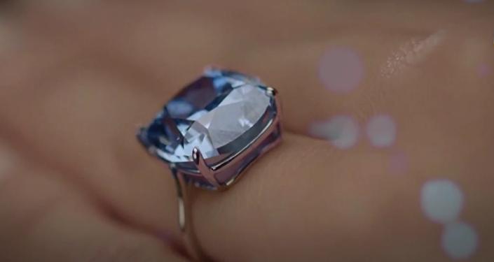 Diamante más caro del mundo, Luna azul, comprado por magnate hongkonés Joseph Lau